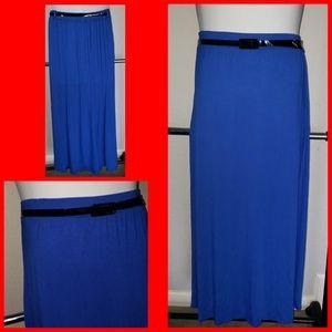 Cute POP blue maxi